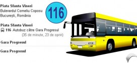 RATB-Autobuzul 116 | cazare muncitori