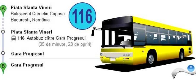 RATB-Bus Line 116